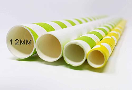 Ống hút giấy 12mm thiết kế theo yêu cầu