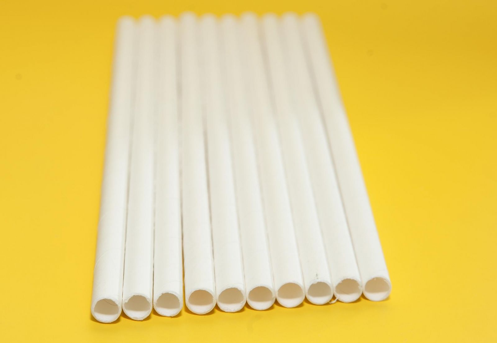 Ống hút giấy 6mm hình chấm bi
