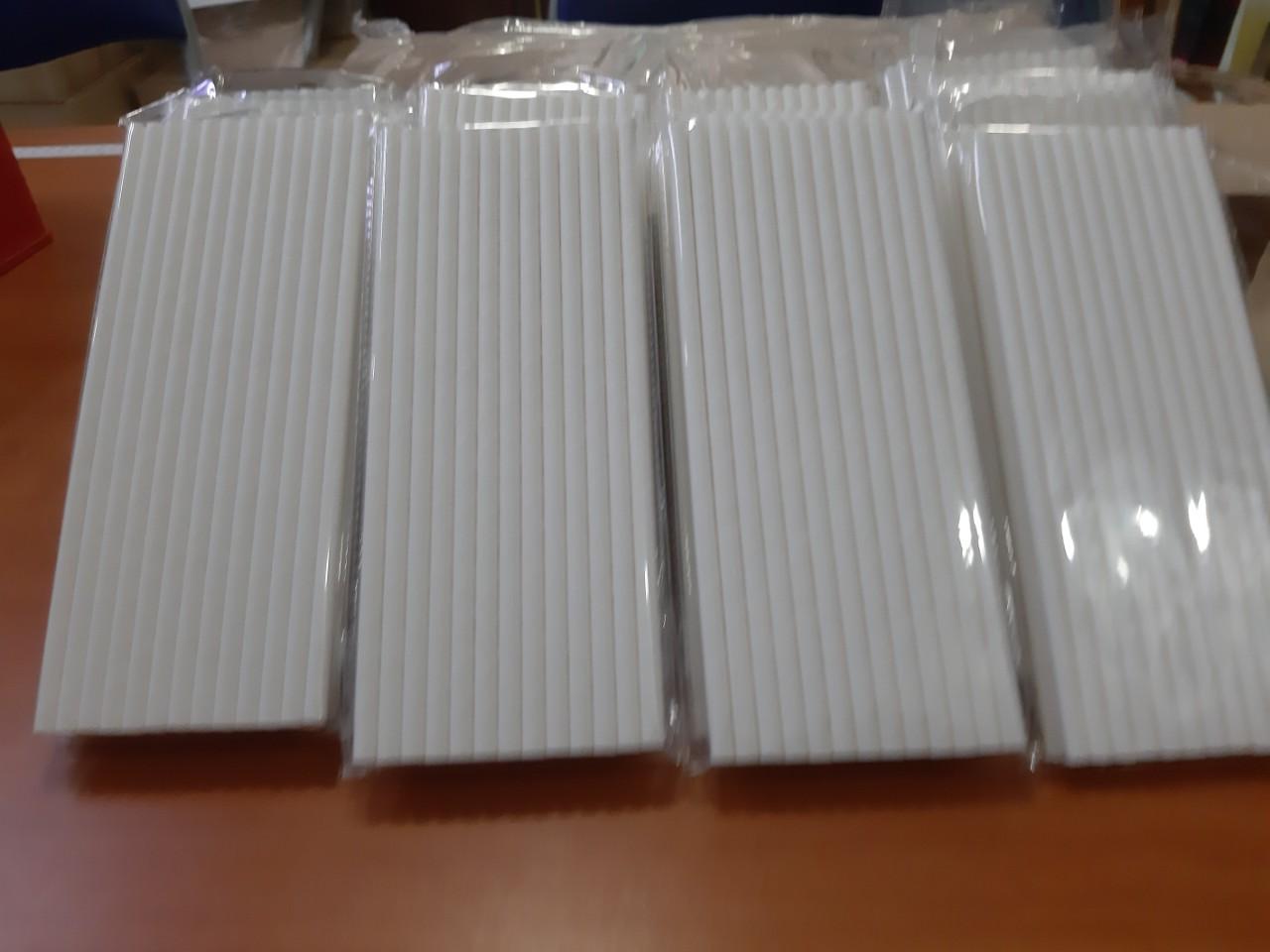 Ống hút giấy 6mm được làm từ chất liệu giấy Kraft