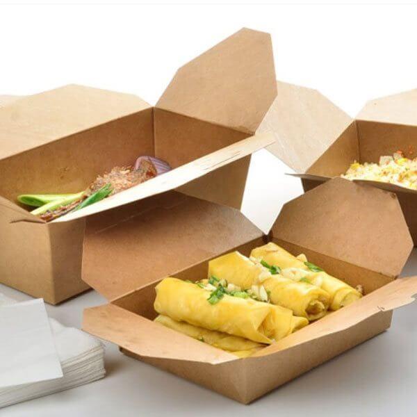 Hộp giấy đựng thức ăn nhanh ECB-01